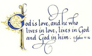 God is Agape Love