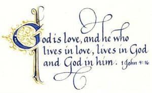 God is Agape Love