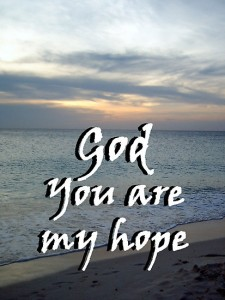 God my hope
