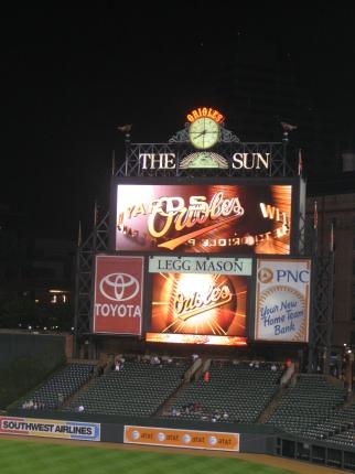 Orioles Scoreboard