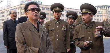 North Korean leader Kim Jong-il